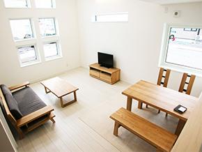 開放的で収納がたくさん!快適エコ住宅
