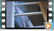 床下暖房配管
